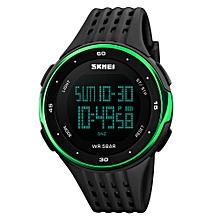 SKMEI Watch Sport Quartz Wrist Men Analog Digital Waterproof Military GN