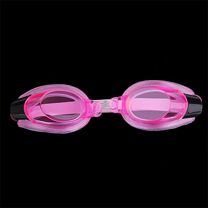 fc8f6c61ad Anti Fog UV Swimming Goggles Adjustable Glasses With Nose Clip+Ear Plug