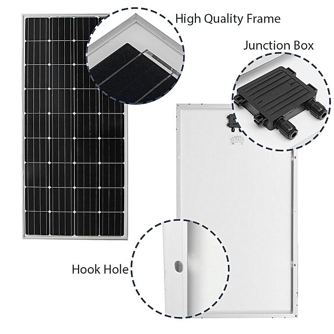 Buy Generic 140W 18V Elfeland Mono Solar Panel Battery Charging For ...