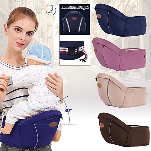 7d37096cb2e Generic Baby Carrier Waist Stool Walker Kids Sling Hold Hipseat Belt Infant  Hip Seat