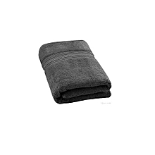 Normal size bath  towel- black