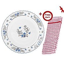 Romantique Glass Dinner Plates.