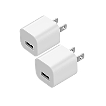 USB Wall Charger, Elepower Portable Travel Wall Charger High Speed Adapter Compatible with iPhone X, iPhone 8/7/6s/Plus, Galaxy S9/S8/Plus, iPad,...