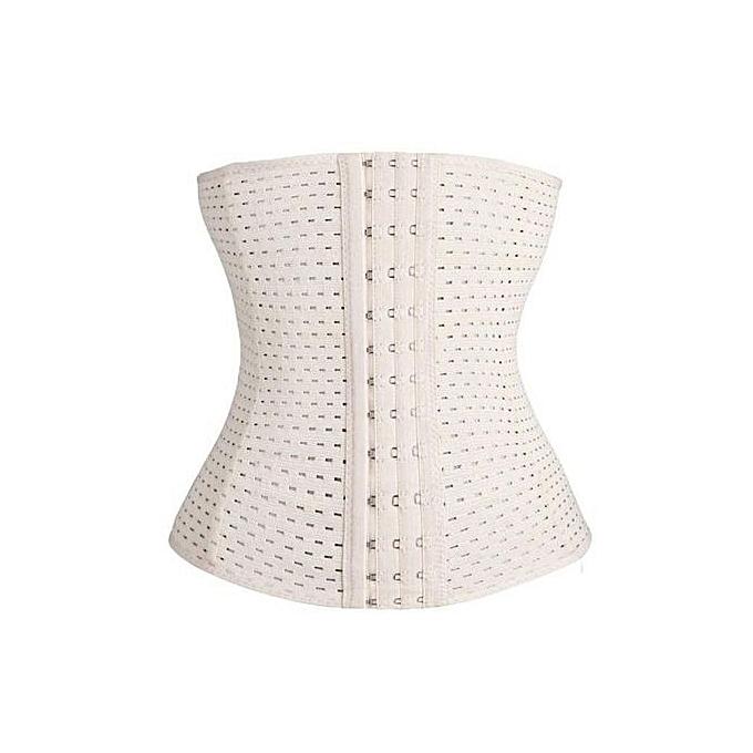 1d11b7fd29 New Fashion Women Casual Corset Waist Training Shaper Body Shapewear  Underbust Belt ( Apricot )