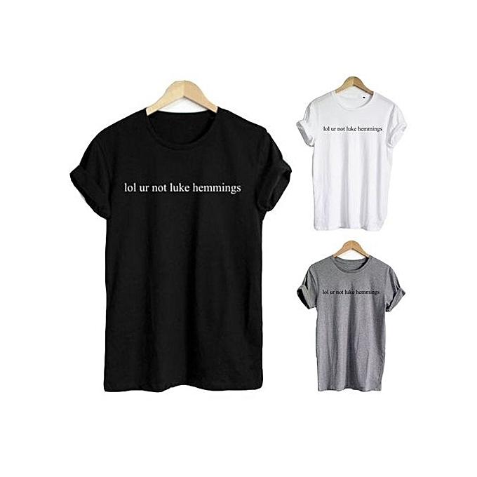 Lol Ur Not Luke Hemmings T Shirt Luke Hemmings Shirt 5 Seconds Of Summer T  Shirt 55c8e2f57
