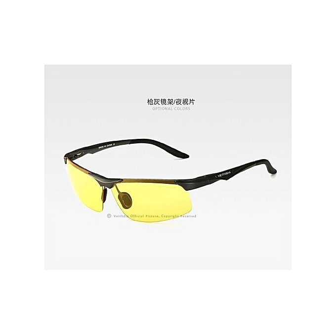 cd30e239ce VEITHDIA Aluminum Magnesium Polarized Sunglasses Men Sports Sun Glasses  Night Driving Mirror Male Eyewear Accessories Goggle