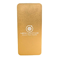 Powerbank - 10,000mAh - Gold