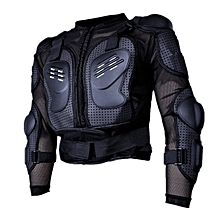 Motorcycle Full Body Protective Armor Jacket Spine Chest Shoulder Riding Gear-
