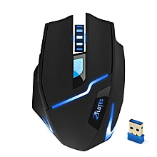 2.4G Wireless 2400DPI Adjustable Game Gaming Mouse for Laptop PC Gamer