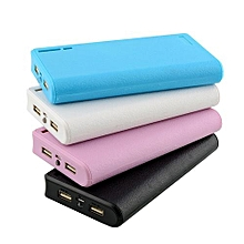 New High Quality USB Power Bank Charger 6pcs 18650 Battery Box Case Holder
