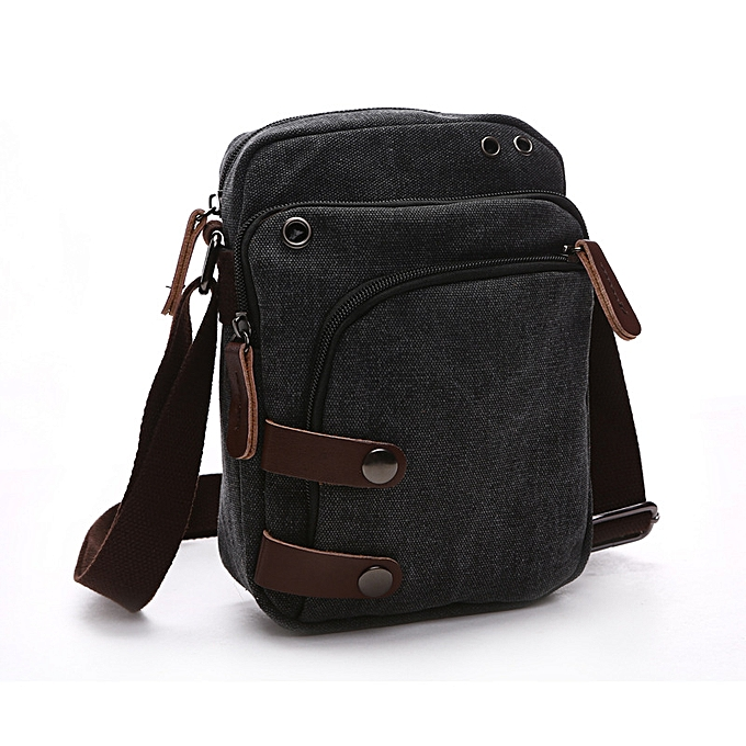 5f315ac916 Canvas Bag Men s Single Shoulder Inclined Bag Multi-functional Large  Capacity Shoulder Bag