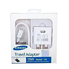Travel Adapter Charger-FastCharger - White