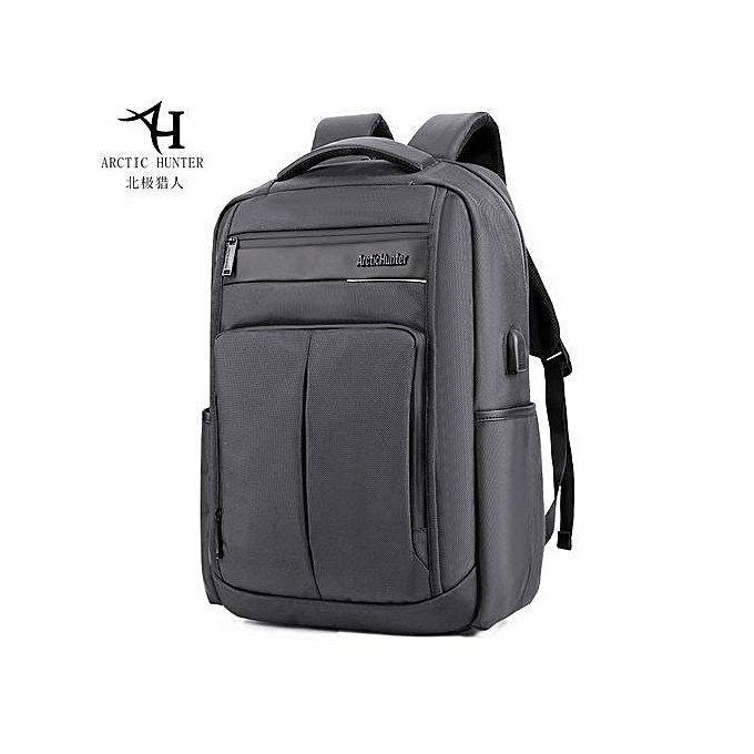 7135d2b48103 Business Water Resistant Polyester Laptop Backpack With USB Charging Port  Under 18-Inch Laptop And