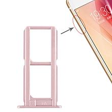 2 x SIM Card Tray for Vivo X7(Rose Gold)