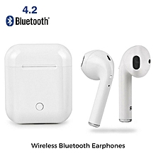 Twins Wireless Bluetooth In-ear Earphone Stereo Headset For Android And IPhone Airpods White