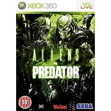 XBOX Game 360 Aliens Vs Predators