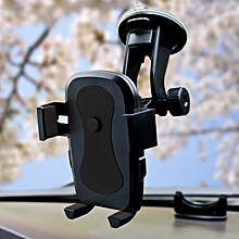 Universal Car 360° Windshield Mount Holder for GPS iPhone Samsung Mobile Phone