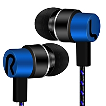 Hiamok_Universal 3.5mm In-Ear Stereo Earbuds Earphone With For Cell Phone
