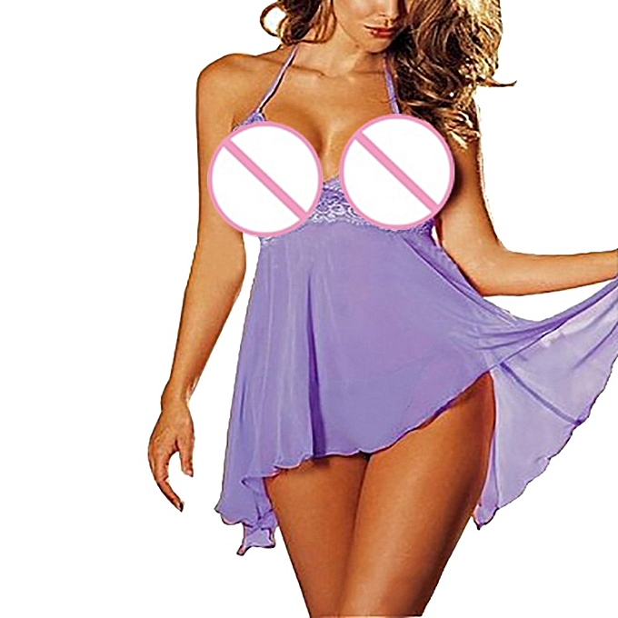 b1c0c254974d snowshine YL5 2 Pcs set Super Sexy Women's Lingerie Lace Dress Underwear  Temptation Plus Size free