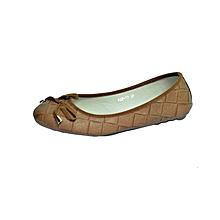 Brown  Ladies Doll Shoes