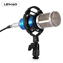 LEIHAO BM - 800 Professional Condenser Microphone for Studio Broadcasting Recording BLUE