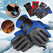 Motorbike Motorcycle Racing Sports Gloves Protective Warm Knuckles Touchscreen