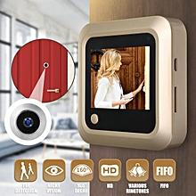 "2.4"" Digital LCD Peephole Viewer Door Eye Monitoring Camera 160 Degree FIFO"