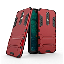 For Nokia X5 Case Slim Hard Back Phone Case Robot Armor Protector Hybrid Rugged Rubber Cover For Nokia X5 Case