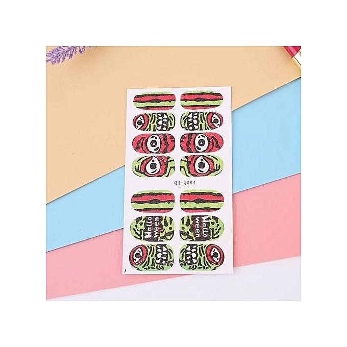Buy Generic Glow In The Dark Luminous Nail Art Sticker Pasters Diy