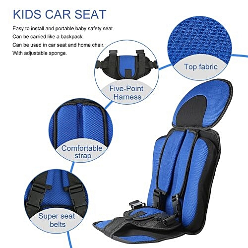 Buy Cocobuy Trendy Soft Safety Kids Car Seat For Child Baby Portable