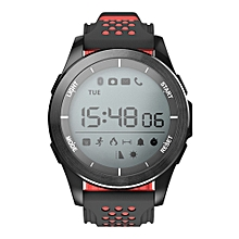 Smart Watch IP68 Waterproof Bluetooth 4.0 Pedometer Sport Fitness For iOS/Android - Black & Red