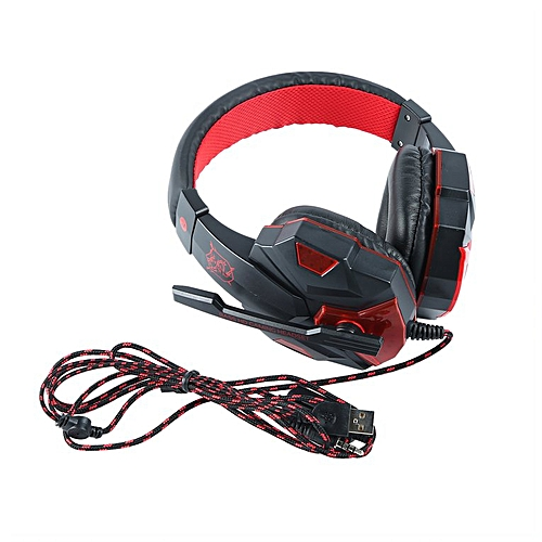 Headset Bass Gaming Headphones Suitable for PS4 XBOX ONE With Microphone