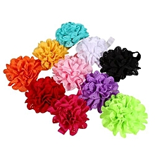 10pcs Cute Headband Hairband Flower Ears Tie Stretch Hair Accessories For Toddler Kids Baby