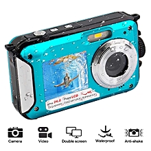 EastVita 2.7inch Digital Camera Waterproof 24MP 1080P Selfie Dual Screen Digital Zoom Camcorder Video Camera Fotografica Camera LIEGE