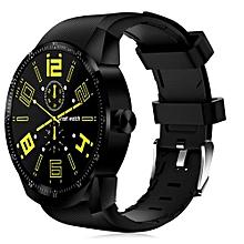 "K98H - 1.3"" Smartwatch Android 4.1 512MB/4GB 400mAh Waterproof Bluetooth 3G - Black"