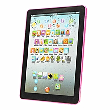 2PCs Pad For Kid Child Learning English Educational Computer Mini Tablet Teach Toy Y Pink