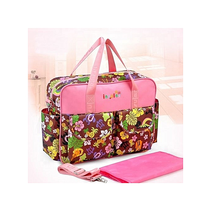 Pattern Diaper Bag Muti-Function Water-Proof Travel Baby Nappy Changing  Tote Bag Large d33e4e0bd2b2d