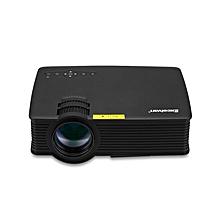 EHD09 - Mini LED Projector 1200LM 800*480 Pixels Home Theater EU - Black