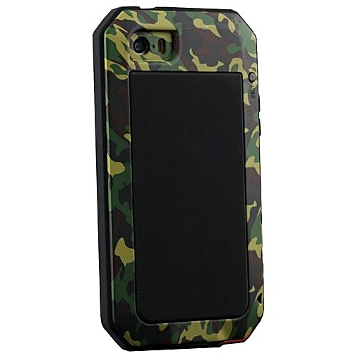 super cute 04553 8dc7b KS R-Just Metal Phone Case Cover For Iphone 5S (Camouflage)
