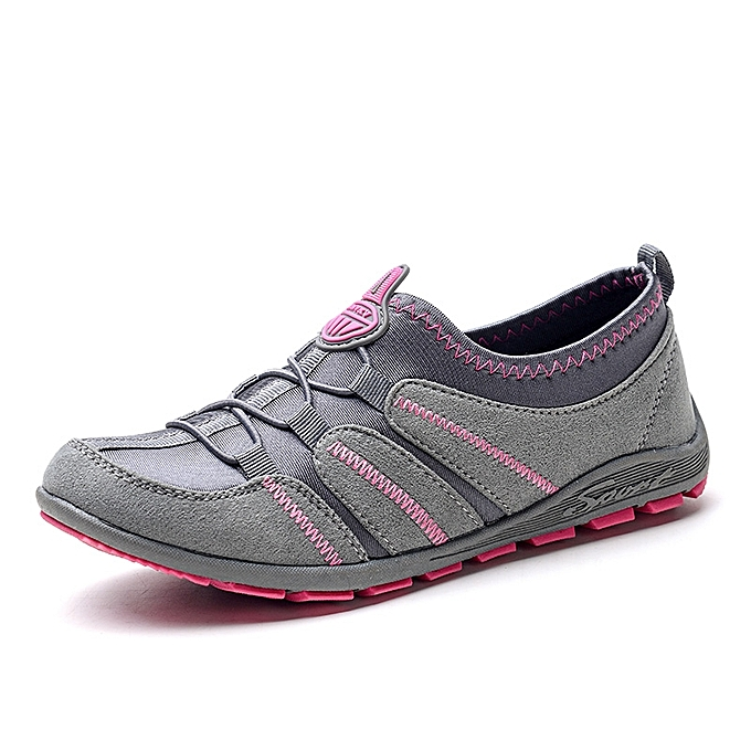 Women Walking Shoes Outdoor Flat Breathable Casual Safety Shoes Fitness 3ccf8c27df87