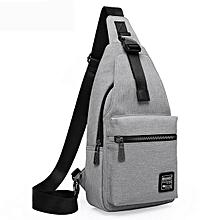 KAKA® Men Fashion Chest Pack Large Capacity Swagger Bag Crossbody Travel Bag