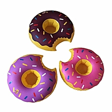 IPRee™ Mini Funny Cookie Shape Ballon Toy Doughnut Inflatable Swimming Pool Toys Bathing Can Holder
