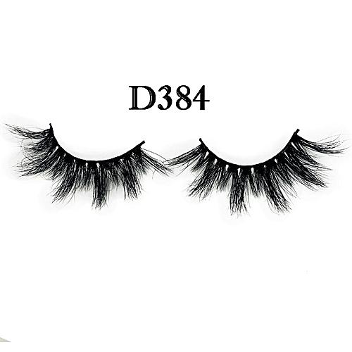 47762411a5d Generic 3pcs/lot 100% real siberian 3d mink fur strip false eyelong  individual eyelashes 3pairs mink lashes extension(D384)