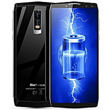 BlackviewP10000 Pro 4G Phablet 6.0 inch Android 7.1 MTK6763 Octa Core 2.0GHz 4GB RAM 64GB ROM Quad Cameras Type-C Glass Back Case 11000mAh Battery-SILVER