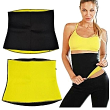 Sweat Belt - Black & Yellow