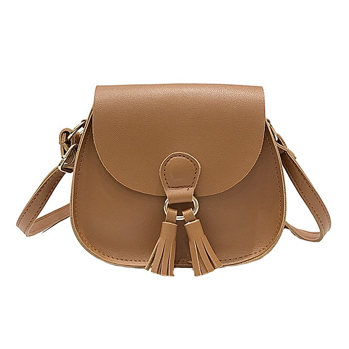 a597cba69a Women Handbags Tassel Leather Cross Body Shoulder Bags Girls Messenger Bag  BW