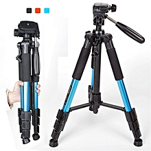 Zomei Q111 Professional Tripod Portable Pro Aluminium Tripod Accessories Camera Stand Blue