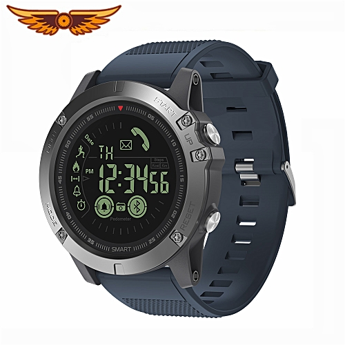 Vibe 3 Flagship Rugged Smartwatch 33-Month Standby Smart Watch for iOS and  Android(Blue)