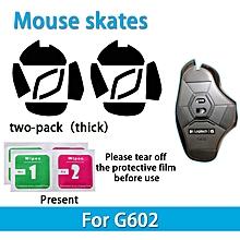2 sets Teflon 0.6mm 3M Mouse Feet mouse Skates for Logitech G602 Mouse