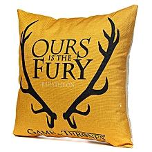 Honana WX-118 Thrones Games Pillow Case Throw Car Sofa Seat Cushion Cover